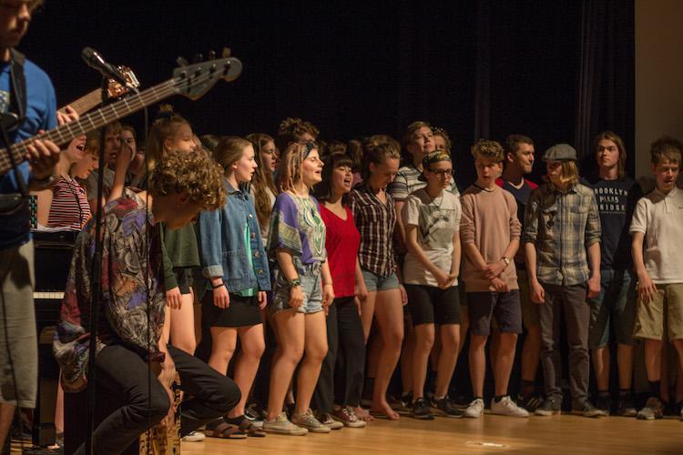 Concierto de la Escuela de Música de Dinamarca